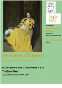 thumbnail of FEMME D OPERA affiche